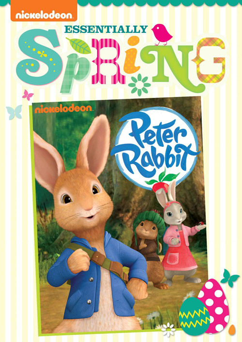 PeterRabbit ES DVD Front Oslv lo Nickelodeon and their fabulous Springtime DVD collections!