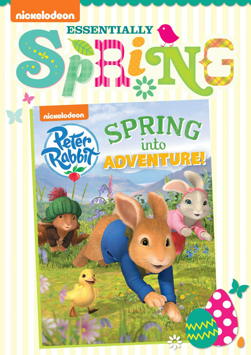 PeterRabbit SIA ES DVD Front Oslv lo Nickelodeon and their fabulous Springtime DVD collections!