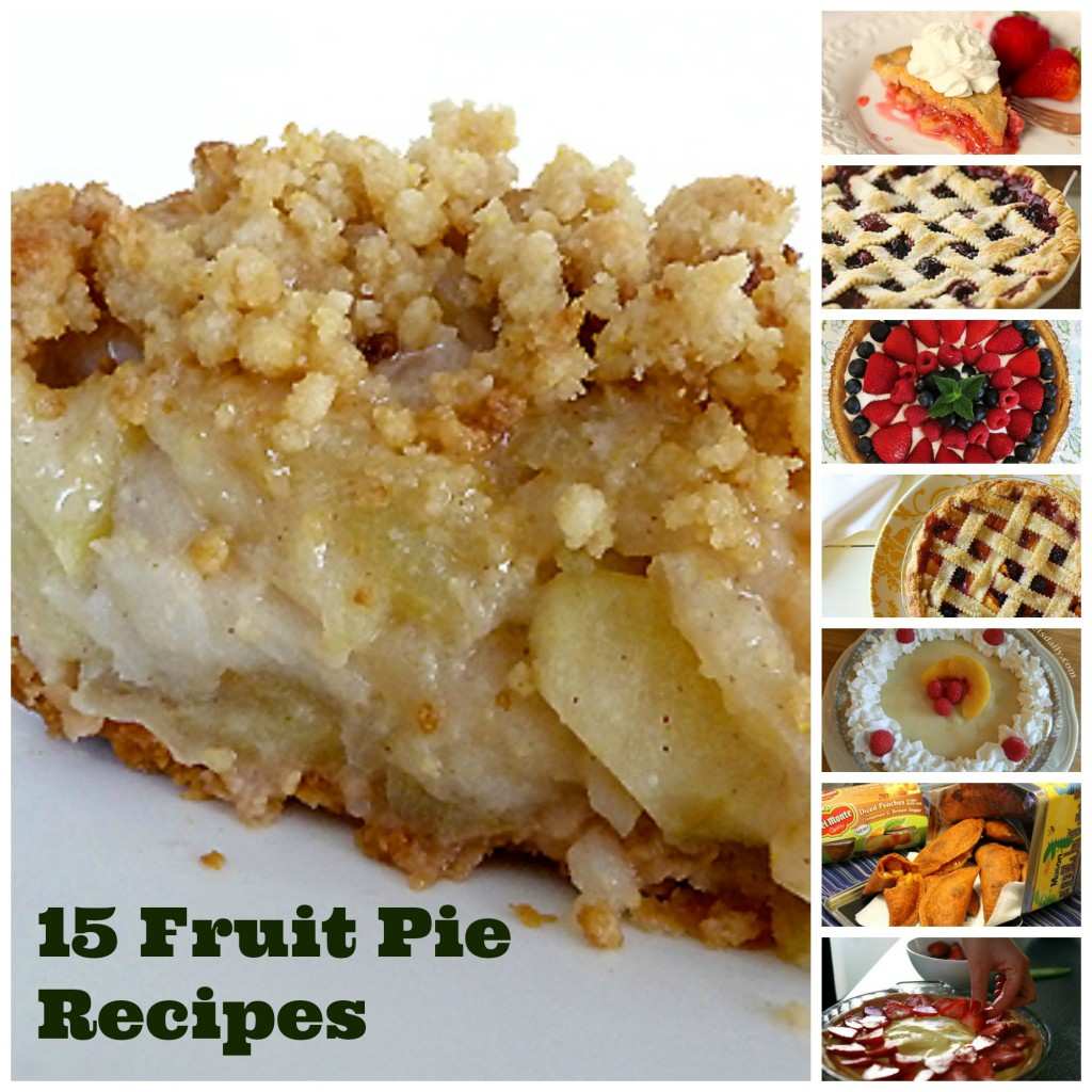 15 Fruit Pie recipe