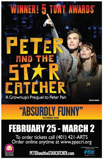 unnamed 23 Peter and The Starcatcher Coming to the PPAC, RI  4 tickets giveaway! #RI