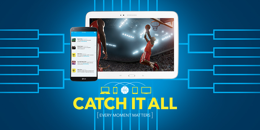 CatchItAll Twitter Image Post Catch it All Now in Time For March Madness at Best Buy! #CatchItAll @BestBuy @BestBuyWOLF