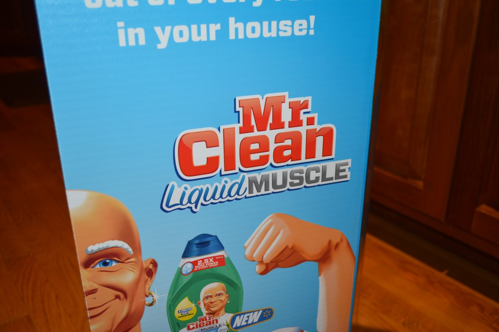 DSC 0984 1024x682 Mr. Clean Liquid Muscle to the Rescue! #MrCleanMorePower