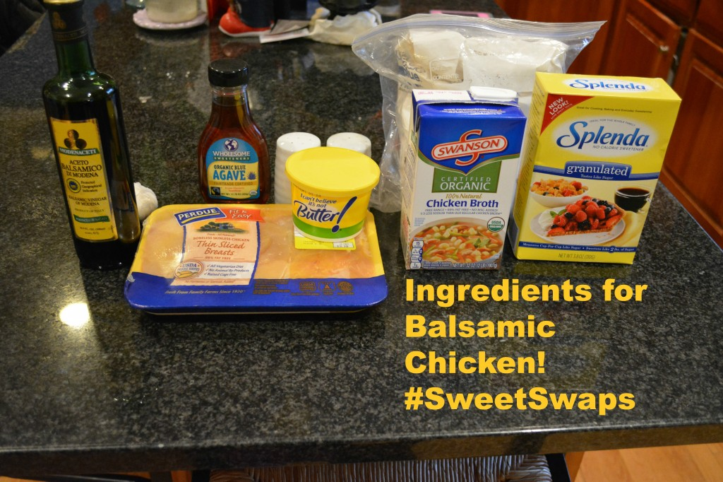 DSC 09931 1024x682 Balsamic Chicken Recipe using SPLENDA® Sweetener! #SweetSwaps