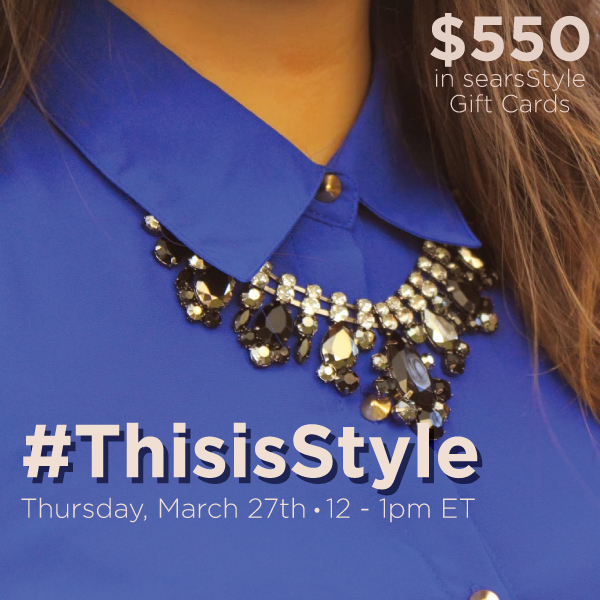 ThisisStyle Twitter Party 3 27 shop Join me at the #ThisisStyle Twitter Party 3/27 12 1 pm EST!