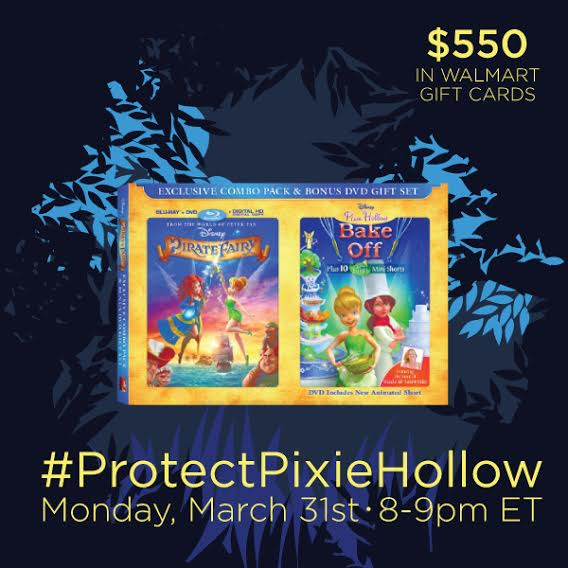 unnamed 25 Join Me At #ProtectPixieHollow Twitter Party 3/31 8:00 9:00 PM EST!