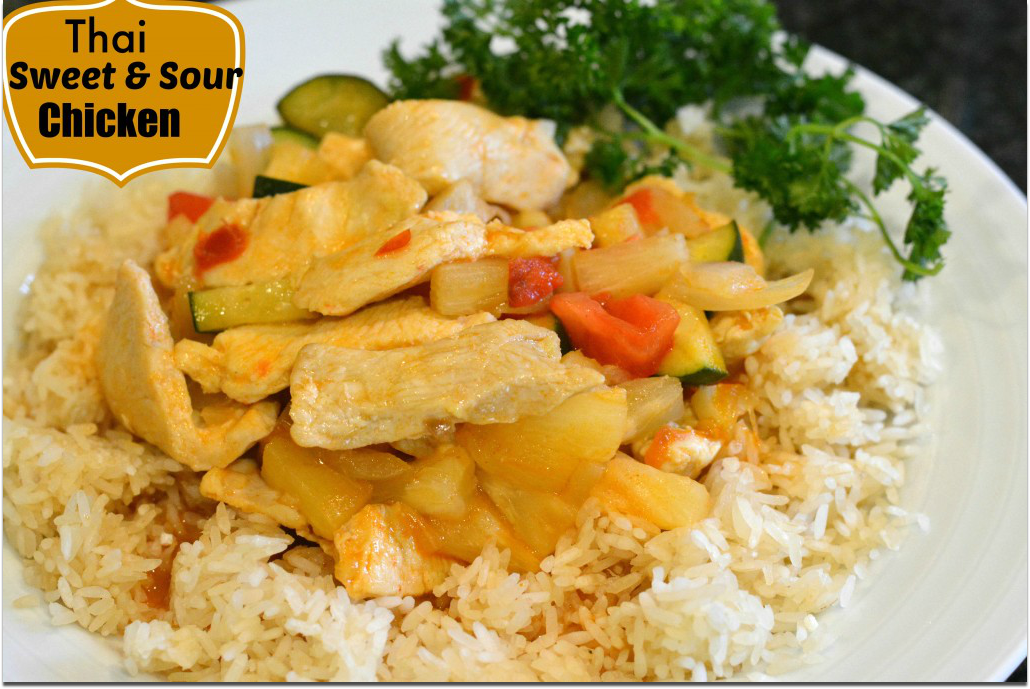 DSC 00691 1024x682 11 Thai Sweet and Sour Chicken for a great dinner tonight! #EasyPrepMeals #CollectiveBias #cbias