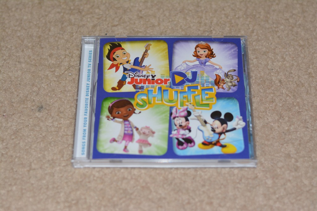 DSC 1227 1024x682 Sing into Spring w/Disney Records (Frozen, Doc McStuffins, Jake, Disney Junior Shuffle) CD 4 pack Review + Giveaway!