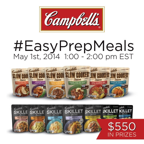 EasyPrepMeals Twitter Party 5 01 1pmET Come Join me for the #EasyPrepMeals Twitter Party 5/1 1 2 pm EST