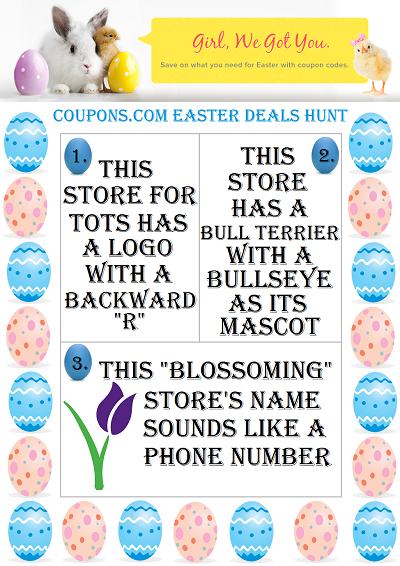 Scavenger Hunt Game 400 Easter Red Velvet Cake Pops and $400 Amazon Giveaway via Coupons.com! #EasterDealsHunt @Coupons