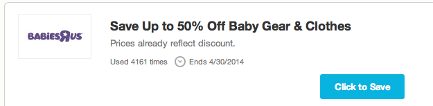 Screen Shot 2014 04 26 at 6.30.28 PM Mothers Day made easy with Coupons.com and a $150 Babies R Us Gift Card Giveaway!