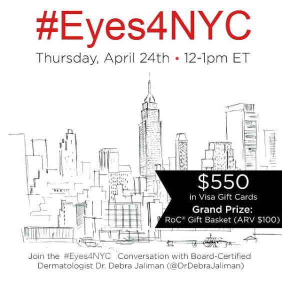 unnamed 21 Please join me for the #Eyes4NYC Twitter Party Thursday, April 24 from 12 1 pm ET!