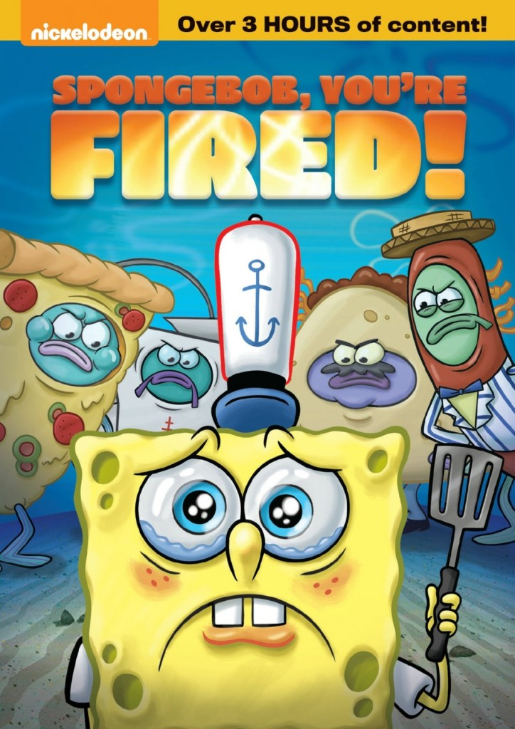 91g0sGr2FfL. SL1500  724x1024 SpongeBob, Youre Fired now on DVD!