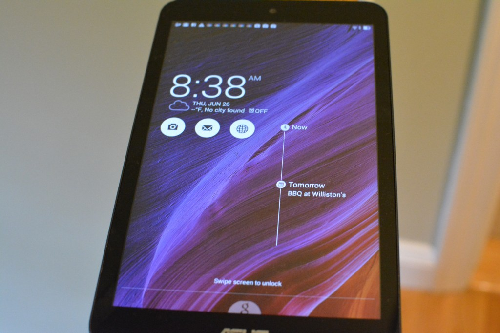 DSC 0432 1024x682 Asus MeMO Pad 8 (ME181) Android Tablet Review and Giveaway!