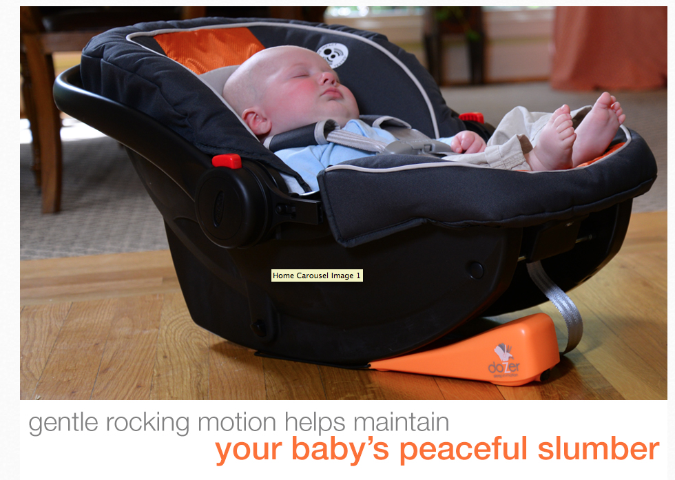 Screen Shot 2014 06 15 at 3.22.11 PM Dozer  The Easy to Use Car Seat Rocker!