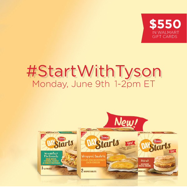 StartWithTyson Twitter Party 6 9 Join me for the #StartWithTyson Twitter Party 6/9 1 2 pm!
