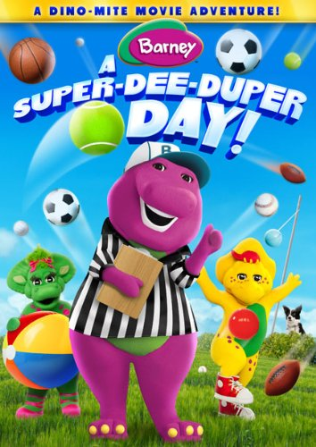 51Eq3n9WiqL Barney: A Super Dee Duper Day on DVD 7/15