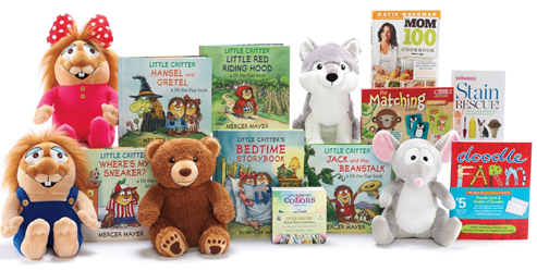 image Kohls Care for Kids Review and Giveaway Mercer Mayer's Little Critter Plush and Books!