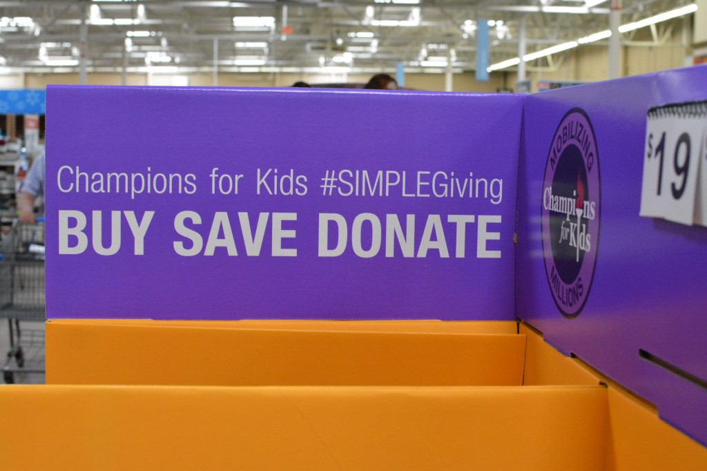 DSC 0866 1024x682 We are Participating in the Champions for Kids #SIMPLEgiving project this month!