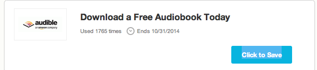 Screen Shot 2014 08 03 at 8.40.57 PM Audible AutoBooks on Amazon now and how to save!