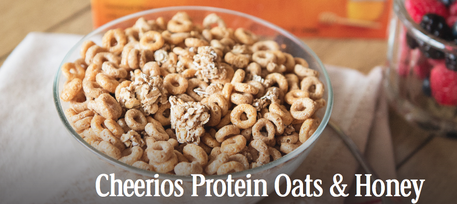 Screen Shot 2014 08 14 at 5.53.11 PM Serving my family Cheerios Protein to start the day! #CheeriosProtein