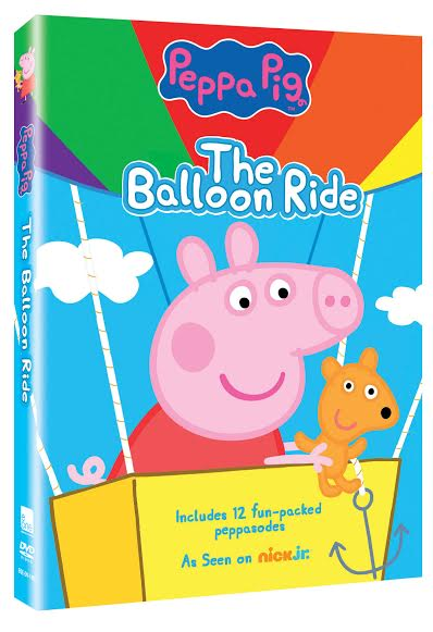 unnamed Peppa Pig  The Balloon Ride and Peppa Pig Book Review and Giveaway!