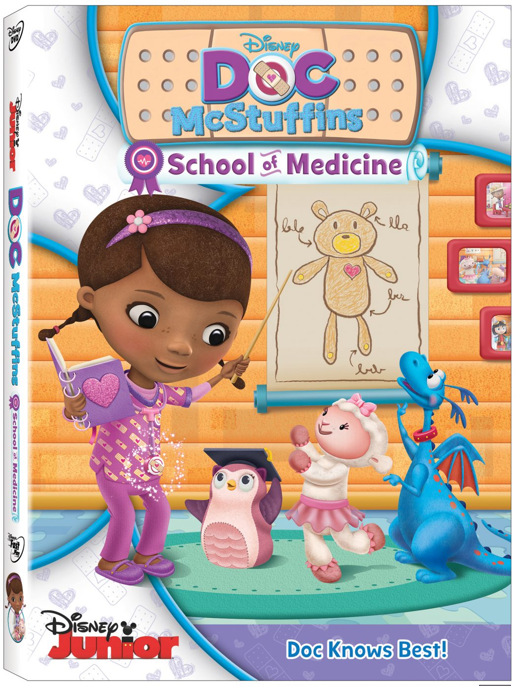 Doc McStuffins: School of Medicine now available on DVD!