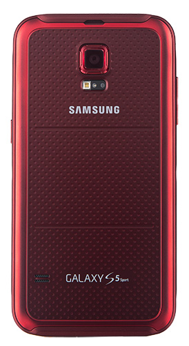 Samsung Galaxy S 5 Sport Cherry Red back low res1 The Samsung Galaxy S 5 Sport is Simply AMAZING! #SprintMom