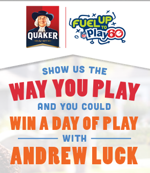 Screen Shot 2014 09 12 at 10.55.57 AM Quaker Fuel Up to Play 60/NFL and a Get Active Giveaway for your family!  #QuakerPlayMaker