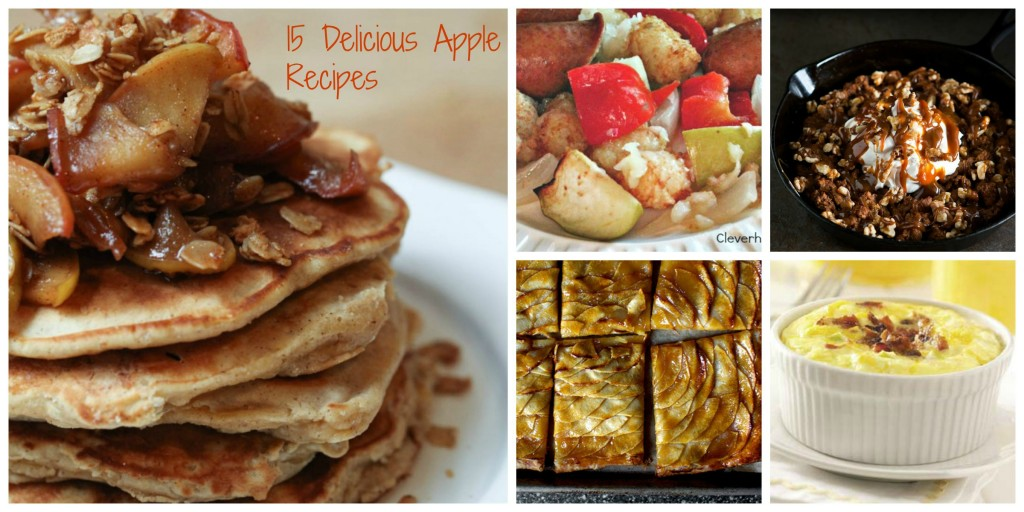 PicMonkey Collage1 1024x512  15 Perfect  Apple Recipes @Foodie @FoodiebyGlam