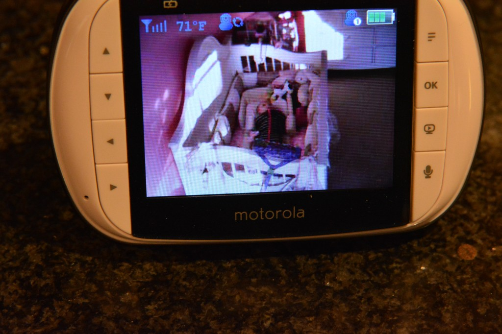 DSC 0739 1024x682 Making sure Taylor is safe with the MBP36S Baby Monitor!  #MotorolaBabyMonitor #CleverGirls