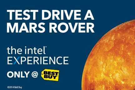 Intel 432x288 Static Mars Intel Technology Experience Zones are now available at Best Buy! @BestBuy #IntelatBestBuy