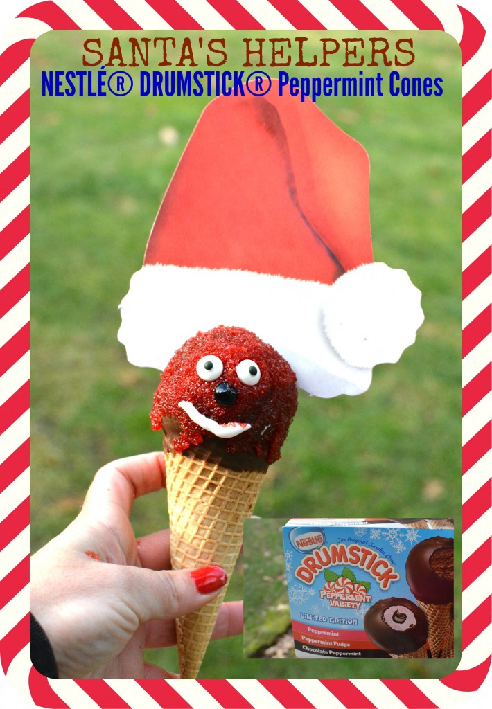 DSC 01922 710x1024 Entertaining this Holiday Season?! Try the new NESTLÉ DRUMSTICK® Peppermint Cones Today!