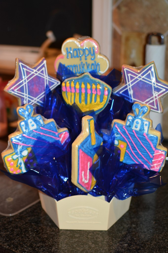 DSC 0922 682x1024 Let's Celebrate Chanukah with a Cookie Basket from Cookies by Design!