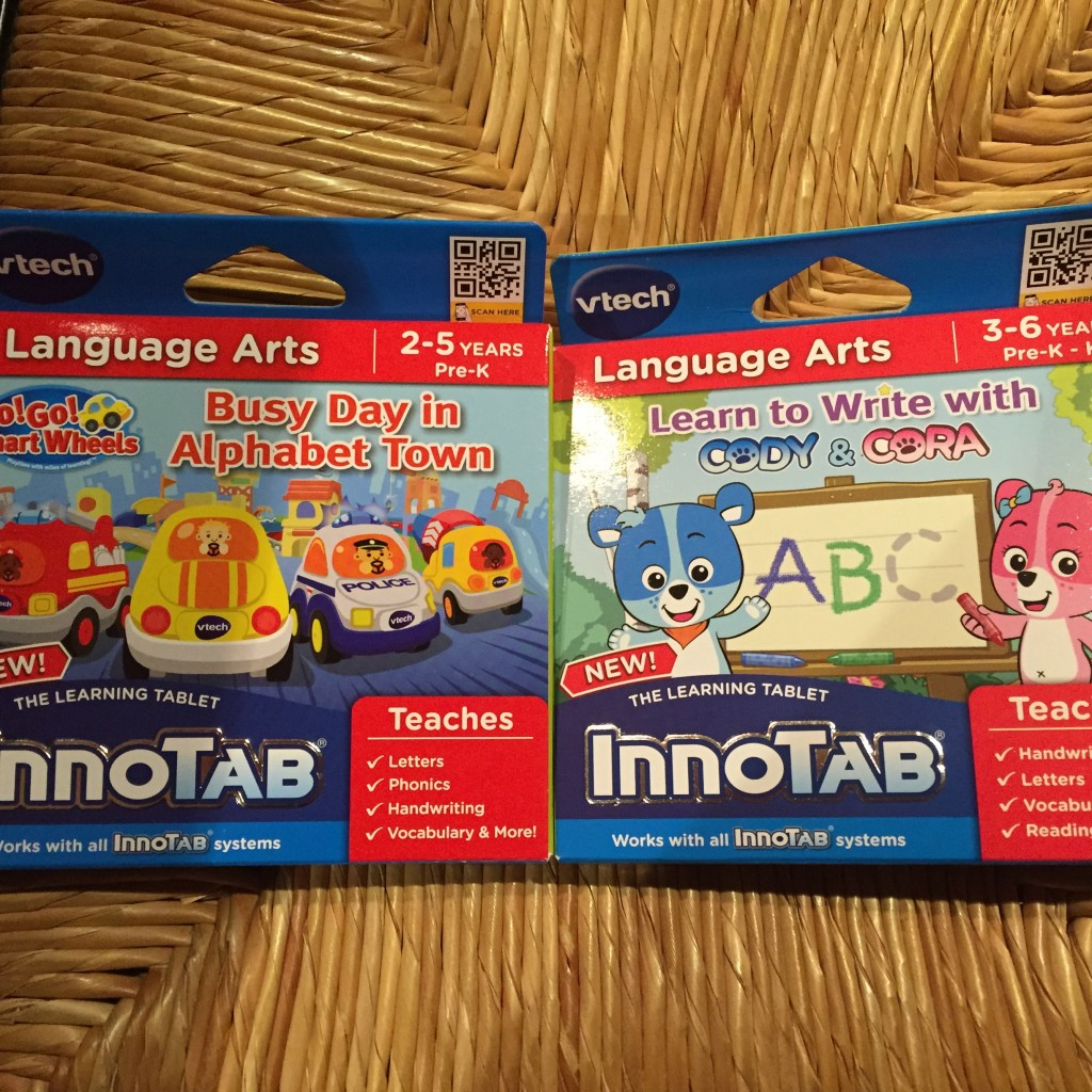 IMG 8722 1024x1024 Vtech InnoTab Learning Tablet Learning Cartridge Games Review +Giveway!