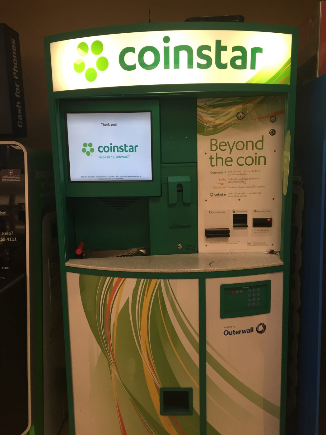 Lose the Loose Change and Cash in! Coinstar to the Rescue