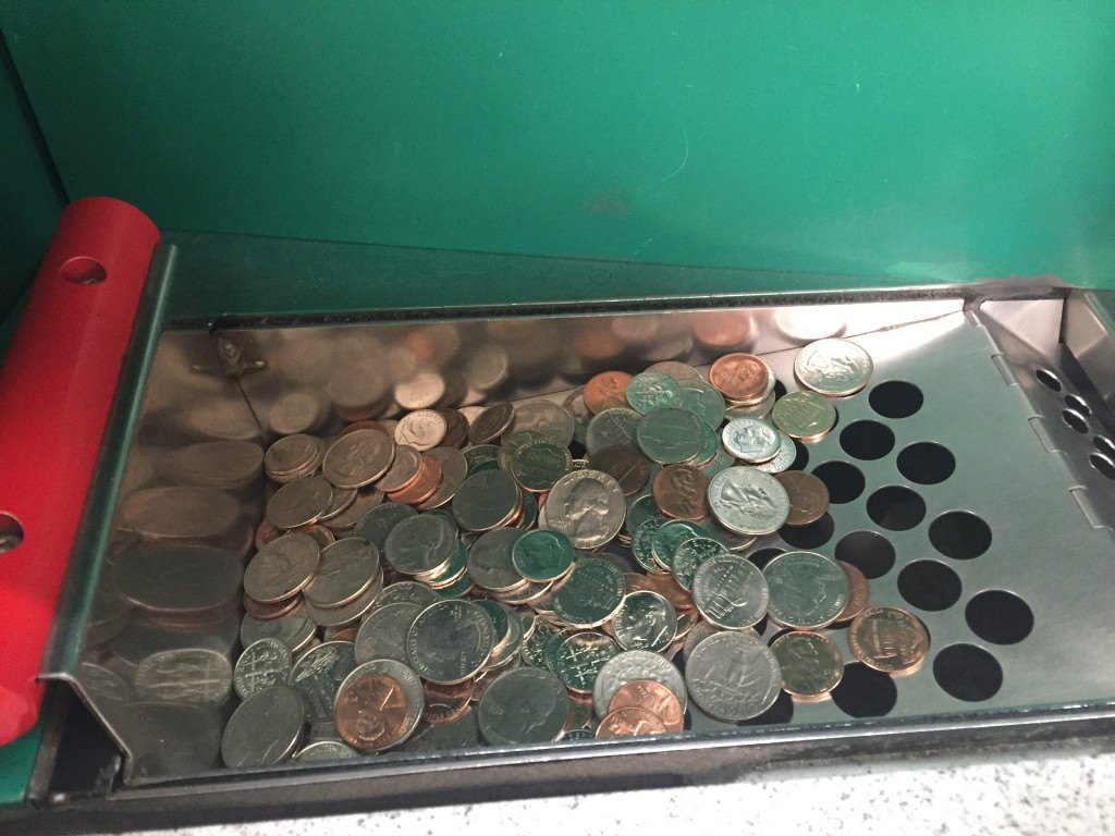 IMG 9239 1024x768 Lose the Loose Change and Cash in! Coinstar to the Rescue