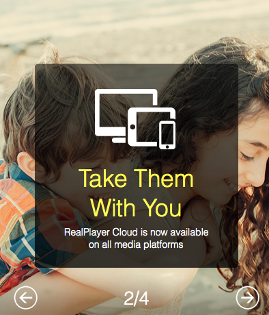 Screen Shot 2014 12 30 at 10.37.22 PM RealPlayer Cloud Review and a RealPlayer Gold Plan/Roku 2/ $200 Visa Gift Card Giveaway!