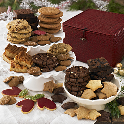 Ultimate Holiday Bakery Basket lg Dancing Deer Baking Company Makes the Holidays Tasty and a Giveaway!