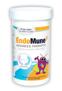 newBottlejr EndoMune Junior Probiotics Review and Giveaway!