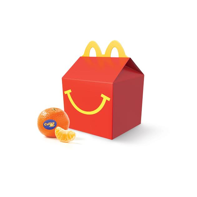 unnamed9 McDonalds Happy Meal with Cuties and a $25 McDonalds Arch Card Giveaway