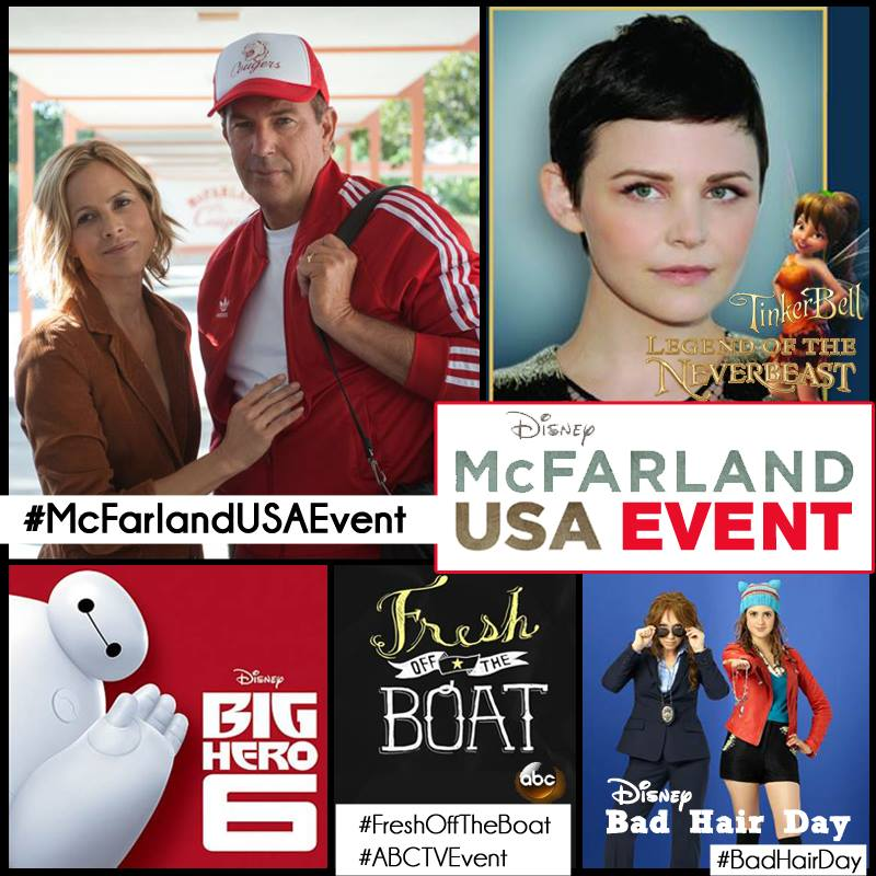I Am Heading to Los Angeles for the #McFarlandUSAEvent!