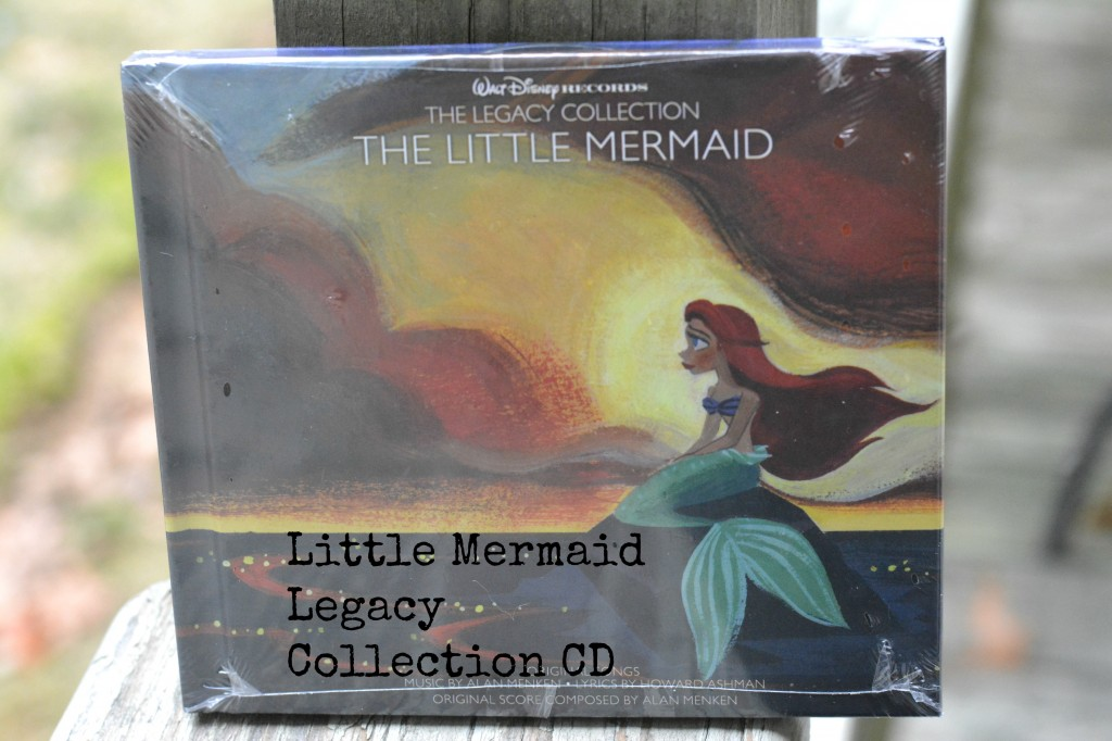 DSC 0334 1024x682 Little Mermaid Legacy Collection CD Review + Giveaway! #DisneyMusic #enmnetwork