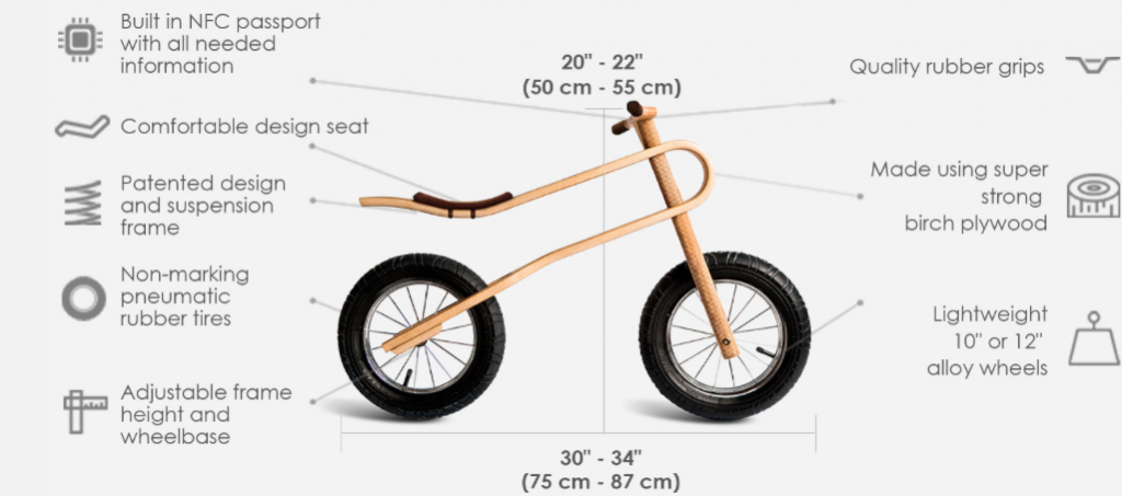 Screen Shot 2015 01 16 at 12.21.24 PM 1024x453 Zum Zum Bike (Balance Bike) for a great starter bike and a bike Giveaway!!