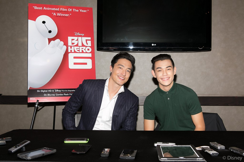 BH6 PRINT 02 1024x683 Big Hero 6  My Interview with Ryan Potter & Daniel Henney (Hiro/Tadashi)!