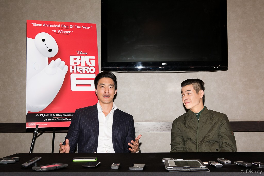 BH6 PRINT 07 1024x683 Big Hero 6  My Interview with Ryan Potter & Daniel Henney (Hiro/Tadashi)!