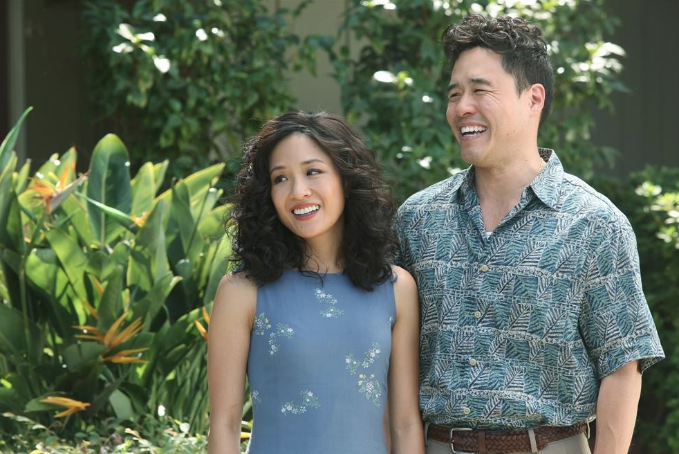 """FRESH OFF THE BOAT - """"Success Perm"""" - Family rivalry spirals out of control when Jessica's sister, Connie, and her far more affluent husband come to visit. The Huangs try to convince everyone they're doing great financially, when nothing could be further from the truth. Meanwhile, Eddie is excited to be reunited with his cousin Justin, who introduced him to hip hop, until he learns the kid has moved on to grunge, on """"Fresh Off the Boat,"""" TUESDAY, FEBRUARY 10 (8:30-9:00 p.m., ET) on the ABC Television Network. (ABC/Gilles Mingasson)  Shown: CONSTANCE WU, RANDALL PARK"""