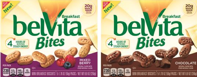 "Screen Shot 2015 02 24 at 9.09.02 PM Trade in your Spoon"" on National Cereal Day (March 7th) in favor of a complete breakfast like belVita Bites!"