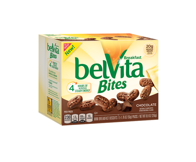 "unnamed 11 Trade in your Spoon"" on National Cereal Day (March 7th) in favor of a complete breakfast like belVita Bites!"