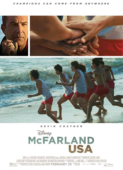 unnamed 15 McFarland USA comes out 2/20! My Interview with the ONE and ONLY KEVIN COSTNER!