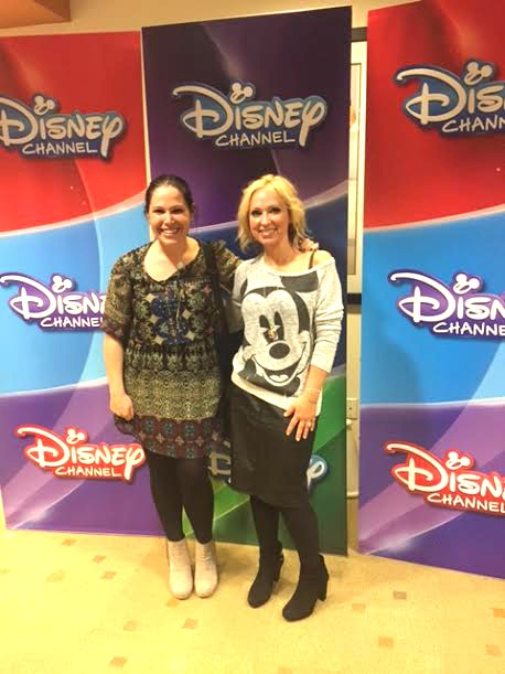Leigh-Allyn Baker and I at the screening of Bad Hair Day